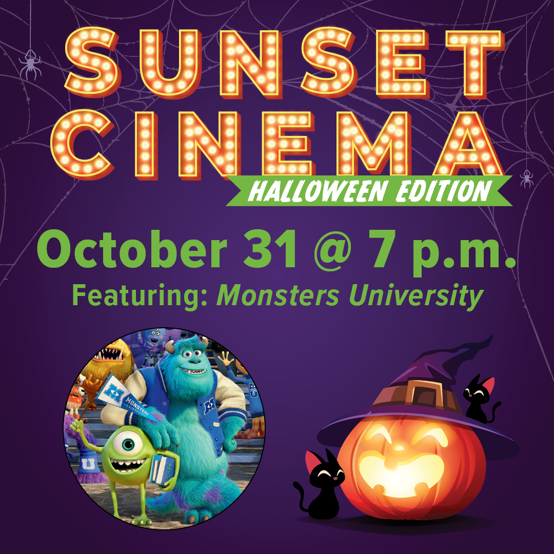 Sunset Cinema Halloween Edition