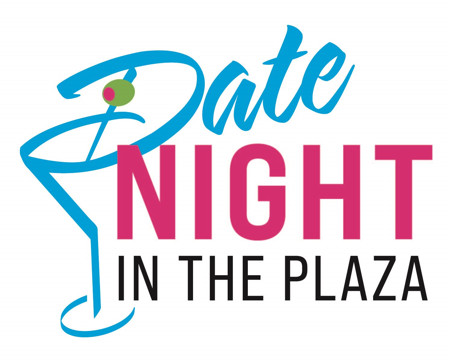 Date Night in the Plaza Logo